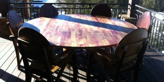 8 person round patio table 1