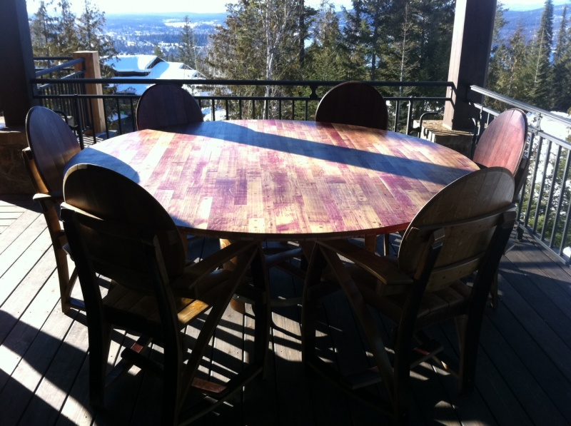 6-8 Person Outdoor Dining